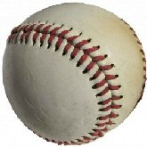 Baseball from MS Word T