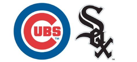 Cubs Sox logos from MS Word