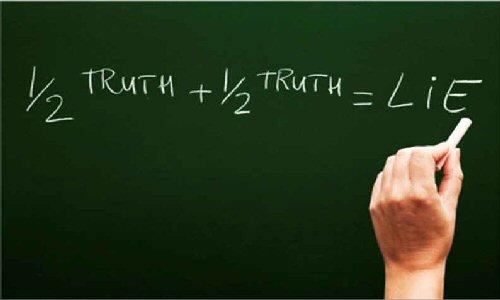 Half Truth